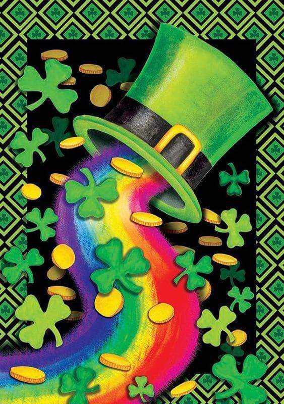 Square Drill 20x30 Cm / 8x12 Inch HAPPY ST.PATRICK'S DAY Diamond Painting