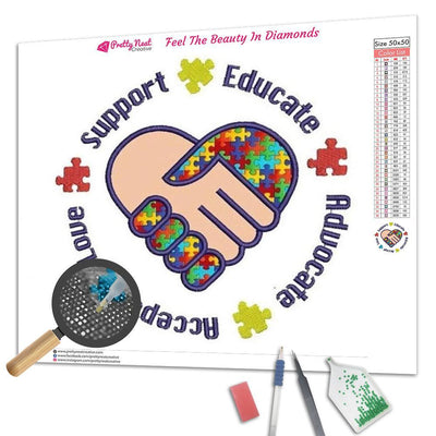 Support Autism Diamond Painting