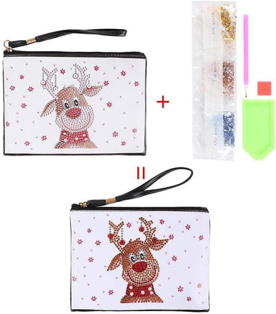 Twinkle Reindeer Clutch Bag Diamond Painting Handbags  - Pretty Neat Creative