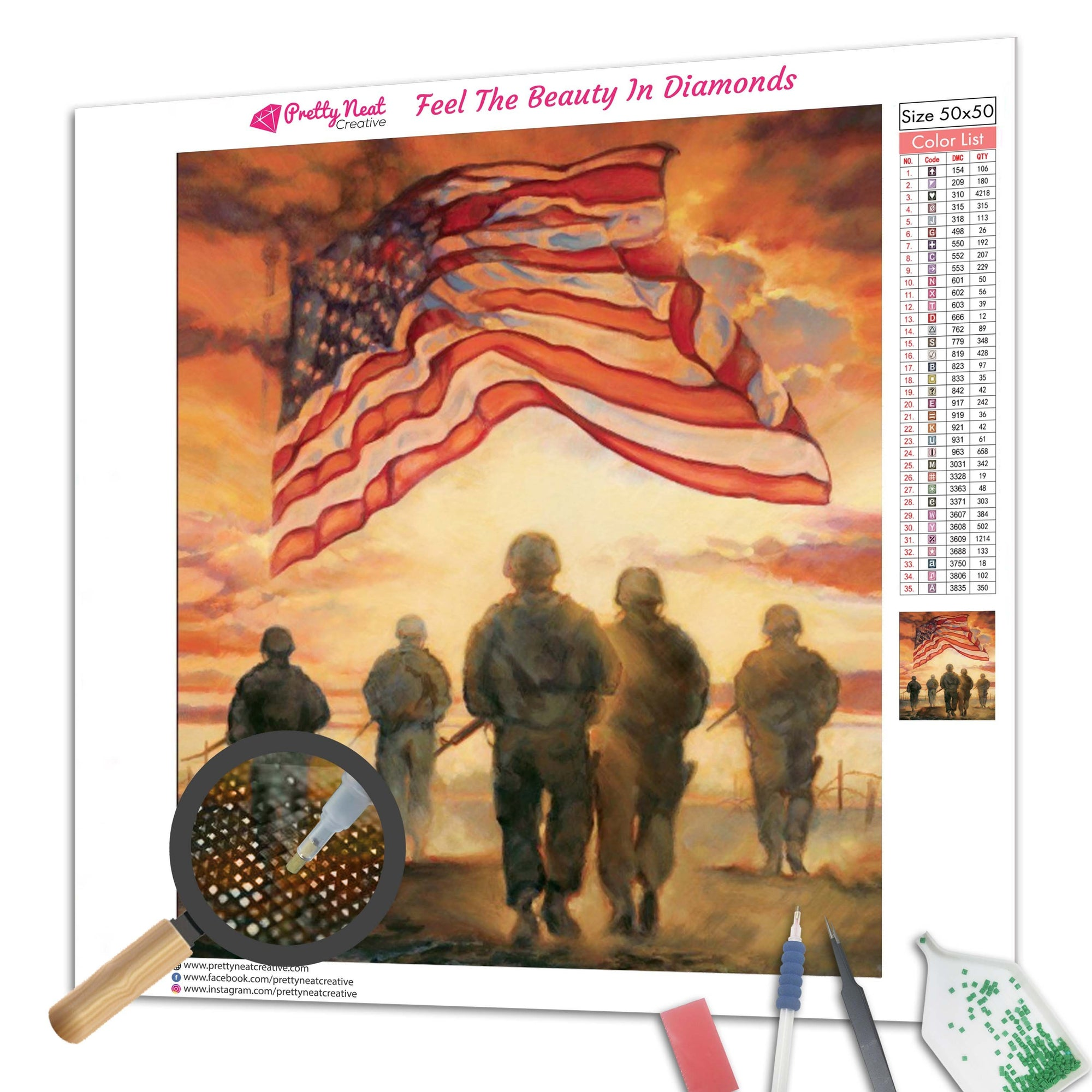 US Army Diamond Painting