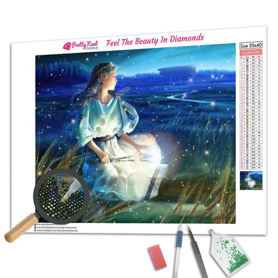 Virgo Constellation Diamond Painting
