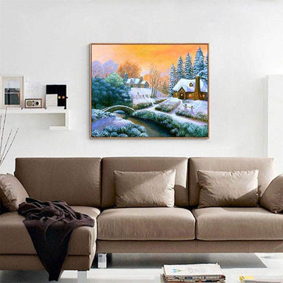 Winter Snow Scenic Diamond Painting