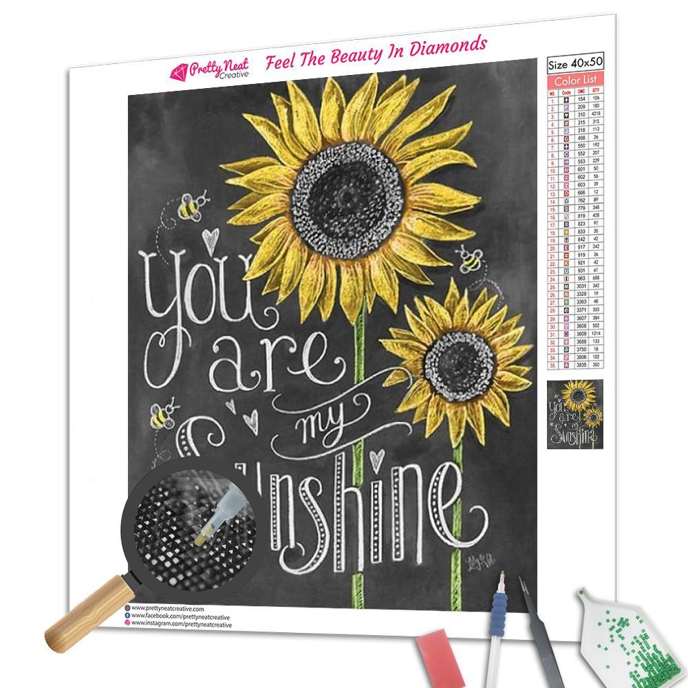You Are Sunshine Square Diamond Painting