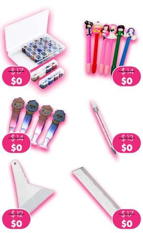Free gift on order above $50