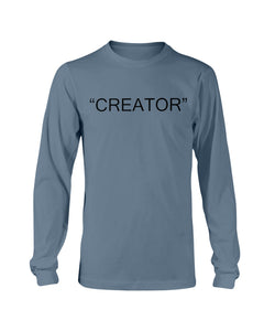 """CREATOR"" Long Sleeve TEE"