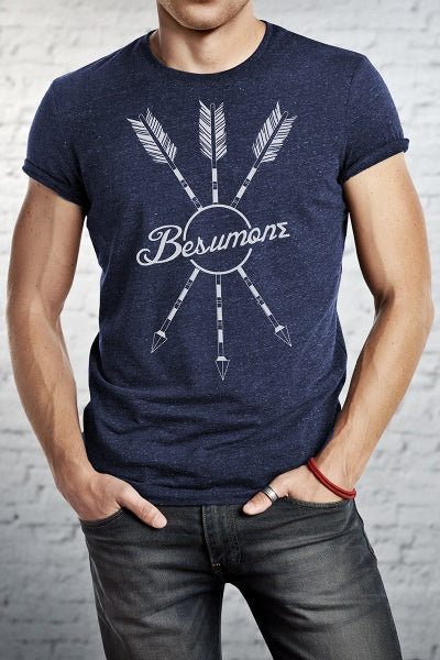 Besumone Apparel logo tee: Show your faith in Jesus by showing you will be someone who changes the world