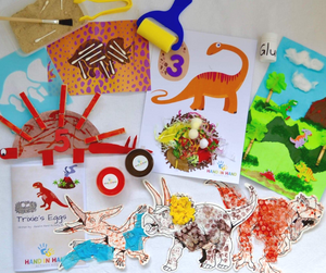 Dinosaur arts and crafts activities