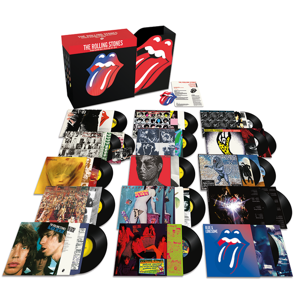 Rolling Stones Vinyl Collection 1971-2016