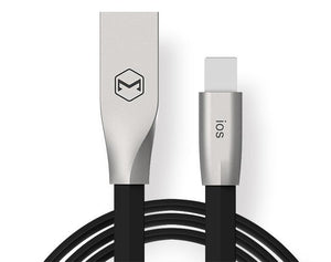 MCDODO CA-2281 1 METER ZN-LINK SAME CONNECTOR FOR BOTH IOS & ANDROID USB CABLE - BLACK
