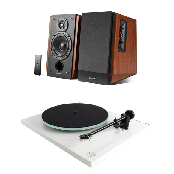 Rega Planar 2 & Edifier R1700BT PACKAGE DEAL