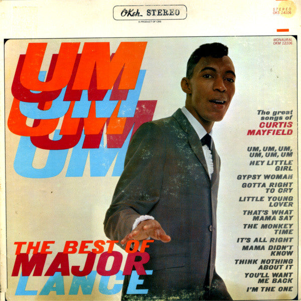 The best of major lance - um um um um um um