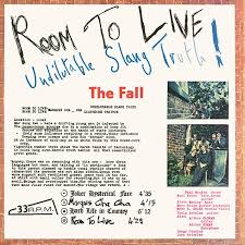 The Fall - Room To Live