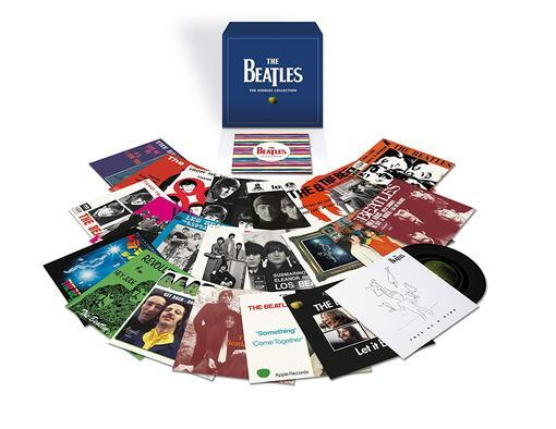 THE BEATLES - THE SINGLES  7