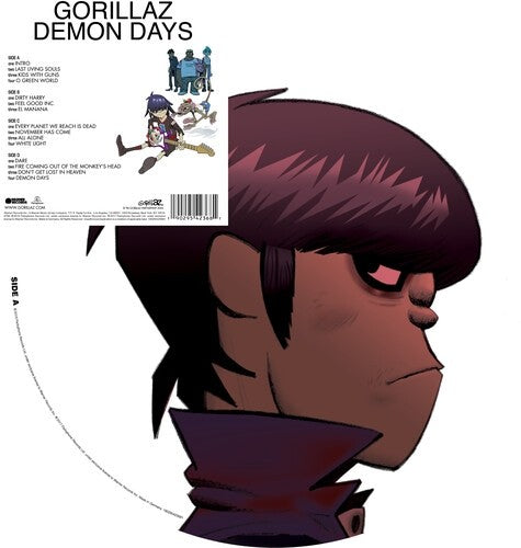 Gorillaz - Demon Days (2LP Picture Disc)