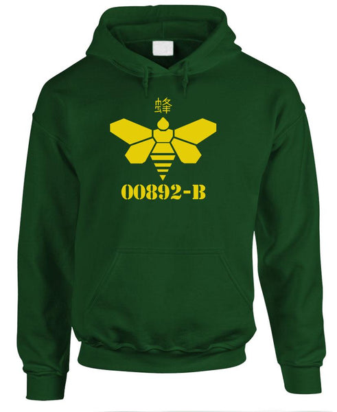 00892 - heisenberg GOLDEN MOTH - Fleece PULLOVER Hoodie (fleece)