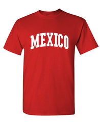MEXICO - Homeland Country Pride - Unisex Cotton T-Shirt Tee Shirt (tee)