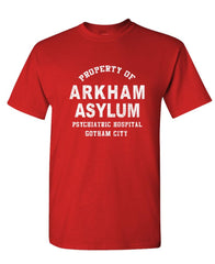 ARKHAM ASYLUM FOR CRIMINALLY INSANE - tv - Mens Cotton T-Shirt (tee)