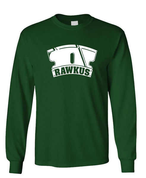 RAWKUS RECORDS - Unisex Cotton Long Sleeved T-Shirt (lstee)
