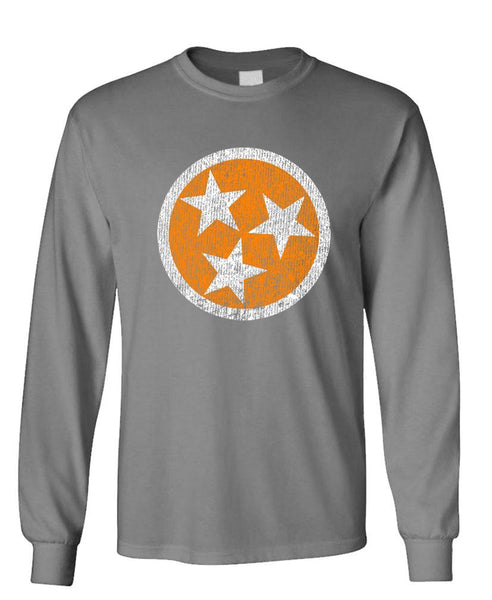 VOLUNTEER STATE - Unisex Cotton Long Sleeved T-Shirt (lstee)