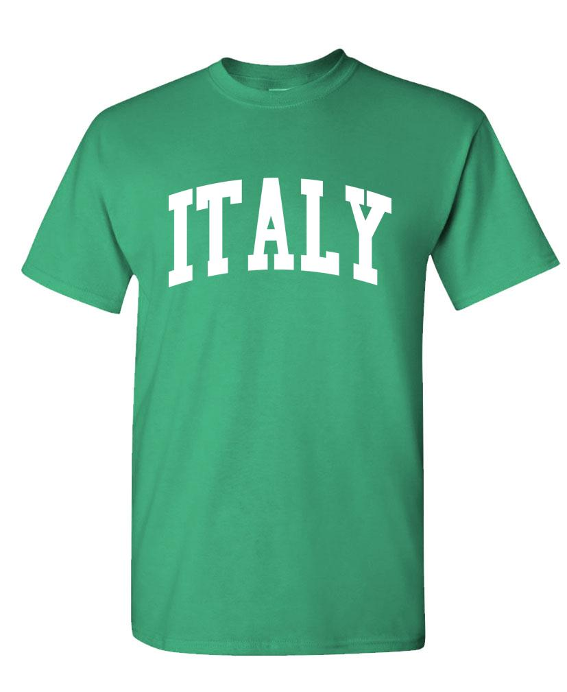 ITALY - Homeland Country Pride - Unisex Cotton T-Shirt Tee Shirt (tee)