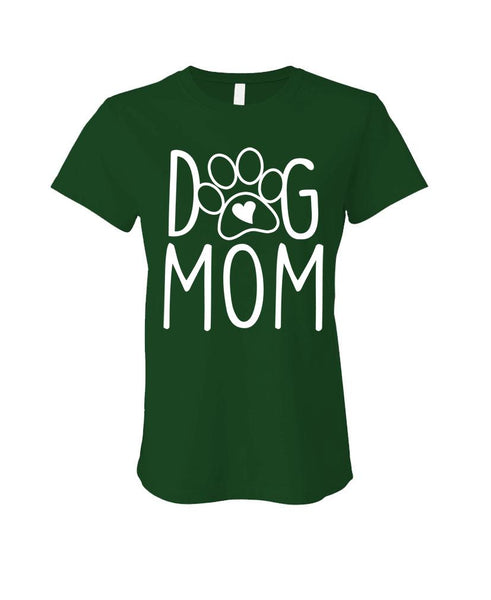 DOG MOM - Cotton LADIES T-Shirt (ladies)