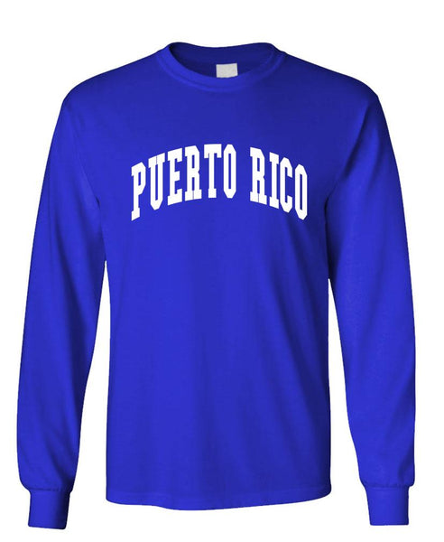 PUERTO RICO PRIDE - united states usa - Unisex Cotton Long Sleeved T-Shirt (lstee)