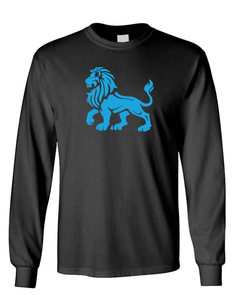 LION PASSANT - Unisex Cotton Long Sleeved T-Shirt (lstee)