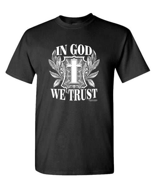 IN GOD WE TRUST - LSA APPAREL christian - Cotton Unisex T-Shirt (tee)