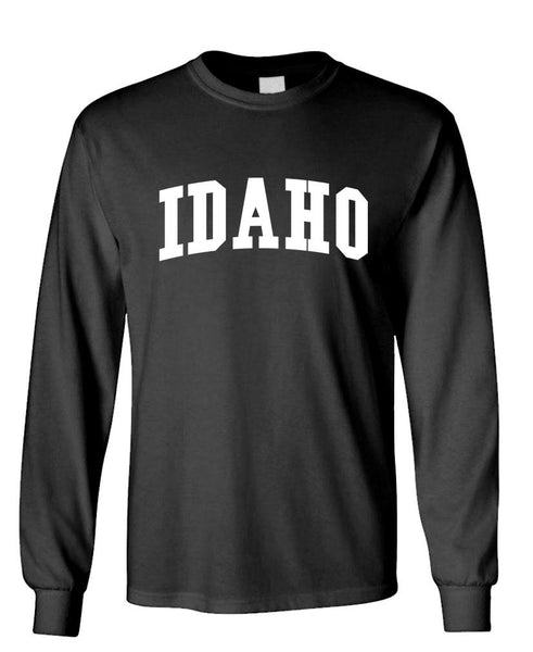 IDAHO - united states usa patriot - Unisex Cotton Long Sleeved T-Shirt (lstee)