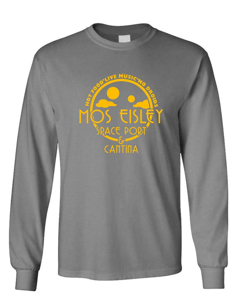 MOS EISLEY CANTINA - sci-fi space movie - long Sleeved Tee (lstee)