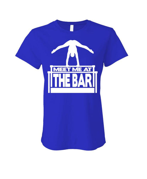 MEET ME AT THE BAR - Cotton LADIES T-Shirt (ladies)