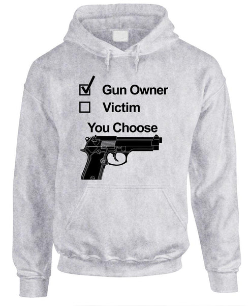 GUN OWNER - Fleece Pullover Hoodie (fleece)