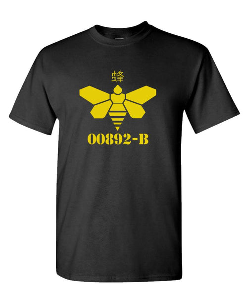 00892 - heisenberg GOLDEN MOTH - Cotton Unisex T-Shirt (tee)