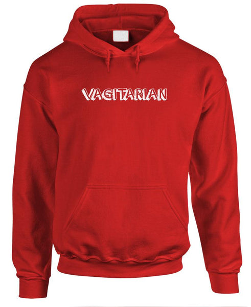 VAGITARIAN - Fleece Pullover Hoodie (fleece)