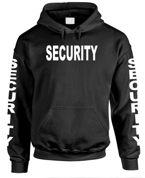 SECURITY - Party Event Staff Police Duty - Mens Pullover Hoodie (fleece)