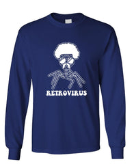 RETROVIRUS - Unisex Cotton Long Sleeved T-Shirt (lstee)