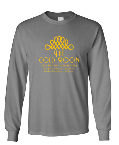 THE GOLD ROOM - overlook hotel bar - long Sleeved Tee (lstee)