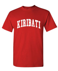 KIRIBATI - Homeland Country Pride - Unisex Cotton T-Shirt Tee Shirt (tee)