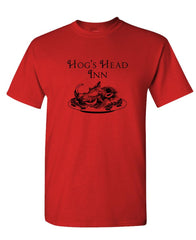 HOG'S HEAD INN - wizard movie fantasy - Mens Cotton T-Shirt (tee)