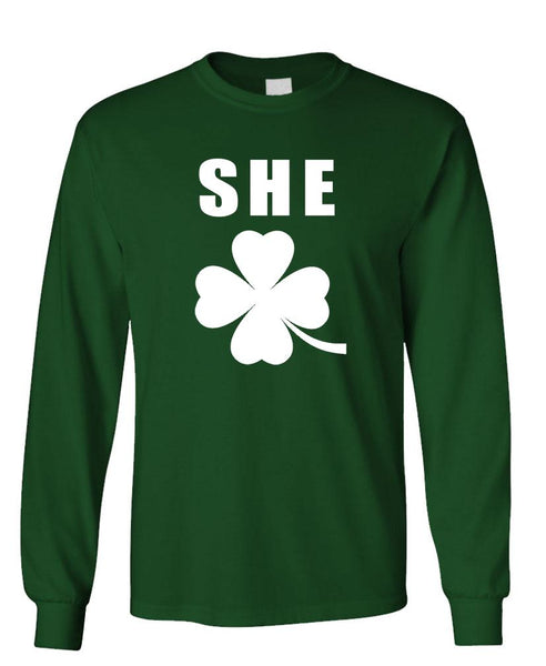 SHE ROCKS - Unisex Cotton Long Sleeved T-Shirt (lstee)