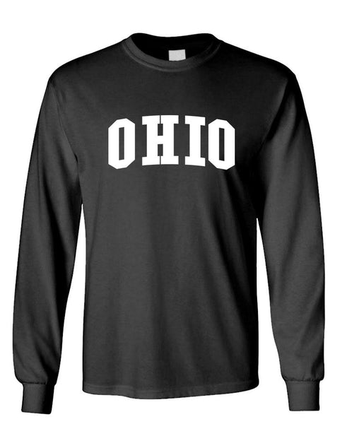 OHIO - united states usa patriot - Unisex Cotton Long Sleeved T-Shirt (lstee)