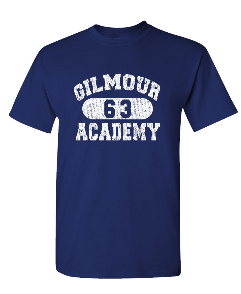 GILMOUR ACADEMY 63 - rock music 70's disco - Mens Cotton T-Shirt (tee)