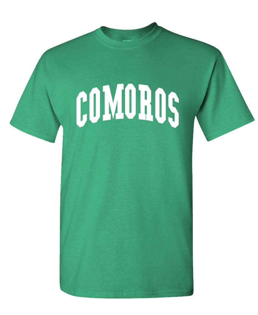 COMOROS - Homeland Country Pride - Unisex Cotton T-Shirt Tee Shirt (tee)