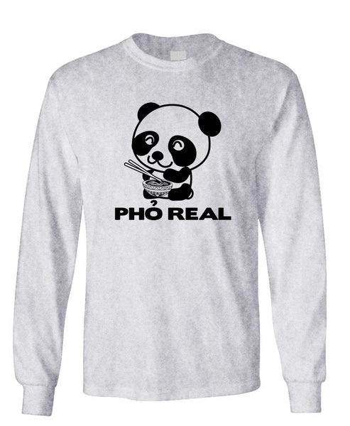PHO REAL - Unisex Cotton Long Sleeved T-Shirt (lstee)