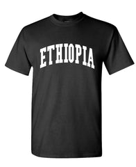 ETHIOPIA - Homeland Country Pride - Unisex Cotton T-Shirt Tee Shirt (tee)