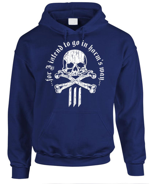 IN HARMS WAY 3 PERCENTER - Fleece Pullover Hoodie (fleece)