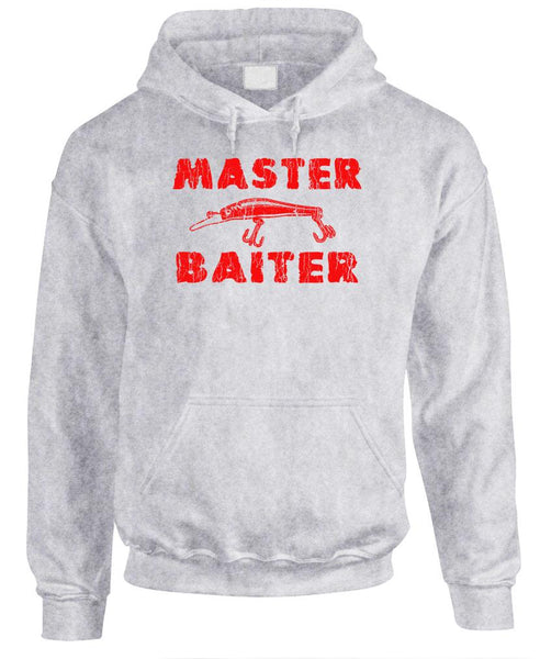 MASTER BAITER - Fleece Pullover Hoodie (fleece)
