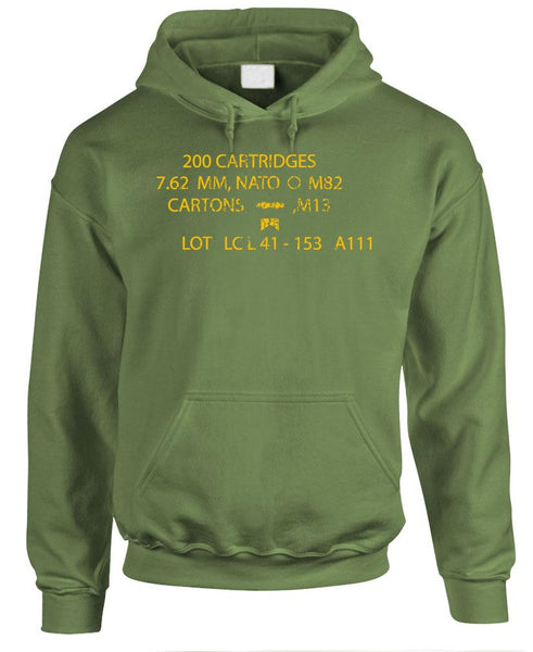 MILITARY AMMOBOX - Fleece Pullover Hoodie (fleece)