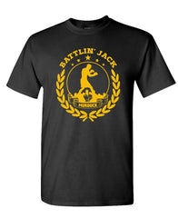 BATTLING JACK - Unisex Cotton T-Shirt Tee Shirt (tee)