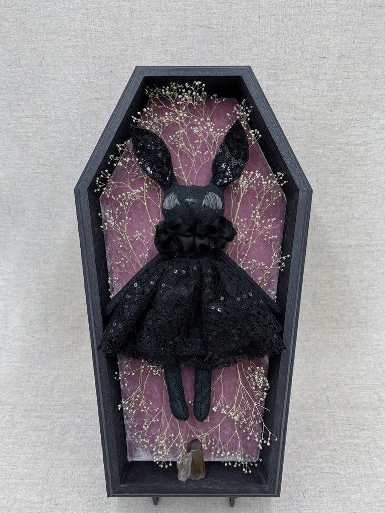 Clara Couture Bunny Shadow Box Display